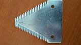 Сегмент ножа жатки New Holland, Case 112074A1 , 191256A1, 826720C2, 826720C3, 44100000, 86509271 ,  86544260, фото 3