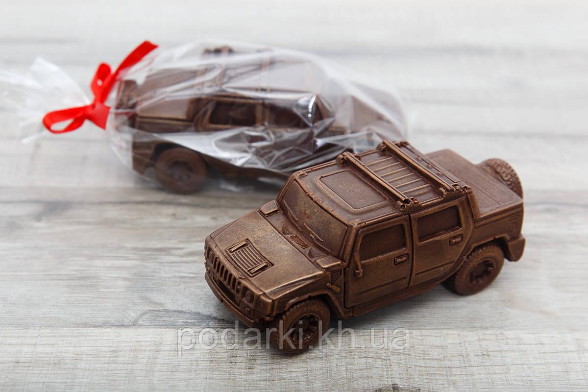 """Шоколадный автомобиль """"Hammer"""". Креативный подарок автолюбителю."""