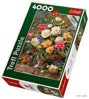 Пазлы Trefl 4000шт (45003) 96*136см (Ваза с цветами)