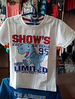 Детская футболка для мальчика на 3 , 4  года