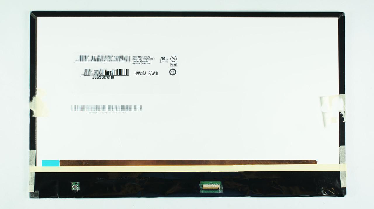 "Матрица 11.6"" B116HAN03.1 (1920*1080, 40pin(MIPI), LED, SLIM, матовая, разъем справа внизу, for Samsung SMART"