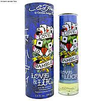 Christian Audigier Ed Hardy Love & Luck For Him  edt 100  ml. m оригинал