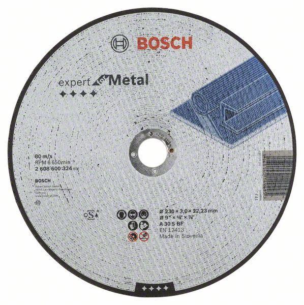 Отрезной круг Bosch металл 230х3 мм, 2608600324