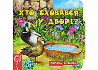 "Книга тайник : Кто спрятался во дворе? """