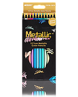 "Карандаши цветные ""MARCO"" №5101B-12CB Metallic (12 цветов), фото 1"