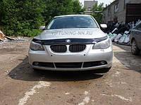 "Дефлектор капота BMW 5 серия E60 2003-2010 ""VIP-Tuning"" темный"