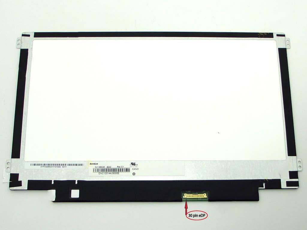 """Матрица 11.6"""" N116BGE-EA2 (1366*768, 30pin(eDP), LED, SLIM(горизонтальные ушки), матовая, разъем справа внизу)"""