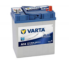 Аккумулятор VARTA BD(A14) 40Ah-12v (187x127x227) правый +
