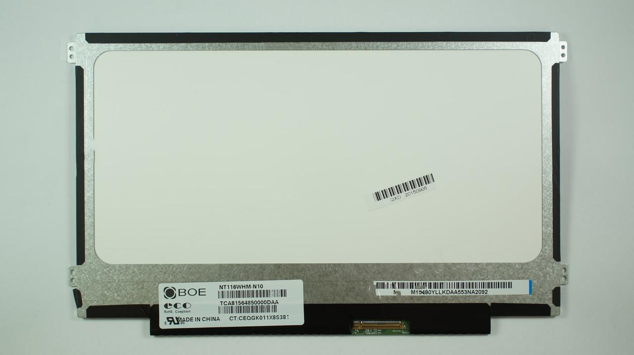 """Матрица 11.6"""" NT116WHM-N10 (1366*768, 40pin, LED, SLIM (горизонтальные ушки), матовая, разъем справа внизу) дл"""