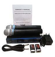 Радиомикрофон Sennheiser EW-100 2 микрофона! (Микрофон DM EW 100), фото 1