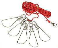 Кукан металлический Fishing ROI 0155-8XN