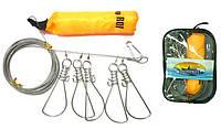 Кукан металлический Fishing ROI 006D-5XN