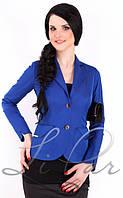 Однотонный женский пиджак 1017