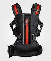 Многофункциональный рюкзак-кенгуру Babybjorn ONE Outdoors,черный. Новинка 2016