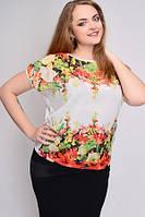 Женская батальная футболка 621А, фото 1