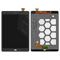 """Дисплейный модуль (дисплей + сенсор) для Samsung Galaxy Tab A 9.7"""" T550/T555, оригинальный (серый)"""