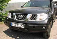 Бампер передний для Nissan Navara D40