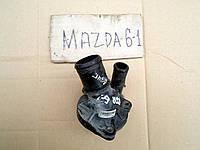 Термостата корпус (фланец), термостат для Mazda 6, АКПП, 2.0i, 2004 г.в. L32715170A, L32815170B