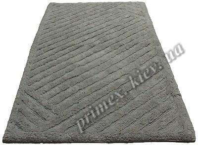 """Индийский коврик ручной работы для ванной """"Паркет"""", цвет - серый"""