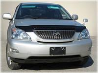 """Дефлектор капота Lexus RX-330/350/400 2003-2009 """"SIM"""" темный"""