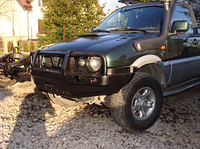 Передний бампер для Nissan Terrano II с кенгурятником