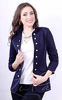 Стильный женский пиджак на пуговицах 1003