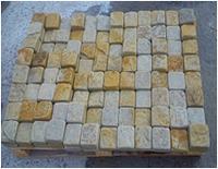 Брусчатка из песчаника (резано-окатанная)