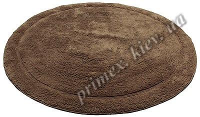 """Индийский коврик ручной работы для ванной """"Спейс"""", цвет - коричневый"""