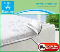 Непромокаемый наматрасник на резинках U-tek Bamboo 160х200