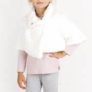 Нарядное меховое болеро, итальянский бренд детской одежды BRUMS