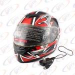 Шлем с блютуз