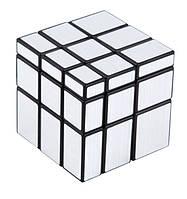 Зеркальный кубик Рубика 3x3x3 (серебристый) SKU0000225, фото 1
