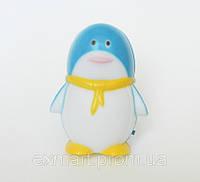 """Светильник ночной Feron LED """"Пингвин"""" (синий)"""