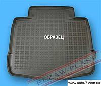 """Ковер багажника Mitsubishi ASX 2010-> (полеуритановый) """"REZAW"""" черн."""