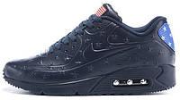 "Мужские кроссовки Nike Air Max 90 ""Blue"", найк, аир макс"