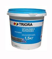 Шпатлевка фасадная TRIORA 1,5 КГ