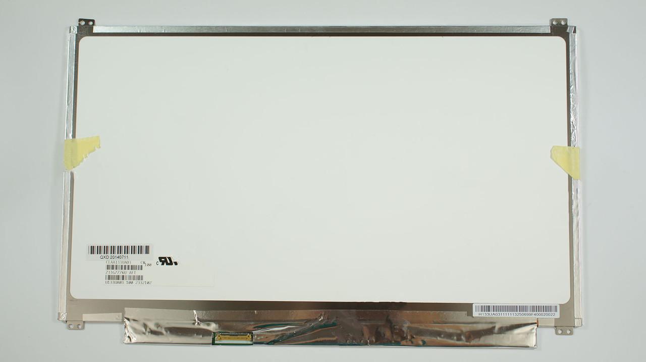 """Матрица 13.3"""" CLAA133UA03 (1600*900, 30pin(eDP), LED, SLIM(вертикальные ушки), матовая, разъем слева внизу, th"""