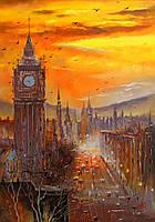 «Вечерний Лондон» картина маслом