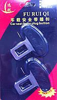 Заглушки ремней безопасности метал. Type R (2шт/кт)