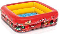 Детский надувной бассейн Intex 57101 Тачки с надувным дном