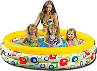 Детский надувной бассейн Intex 58449 Круг