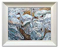 Мозаичная картина из мрамора