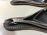 Накожницы-щипцы маникюрные Olton L + чехол(кожа)