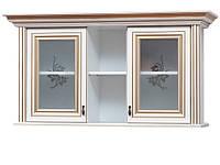 Світ Меблів Сорренто витрина навесная 690х1310х415мм прованс