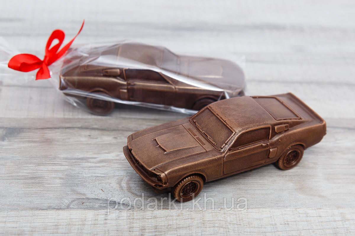 """Шоколадный автомобиль """"Ford Mustang"""". Коллекционные шоколадные автомобили."""