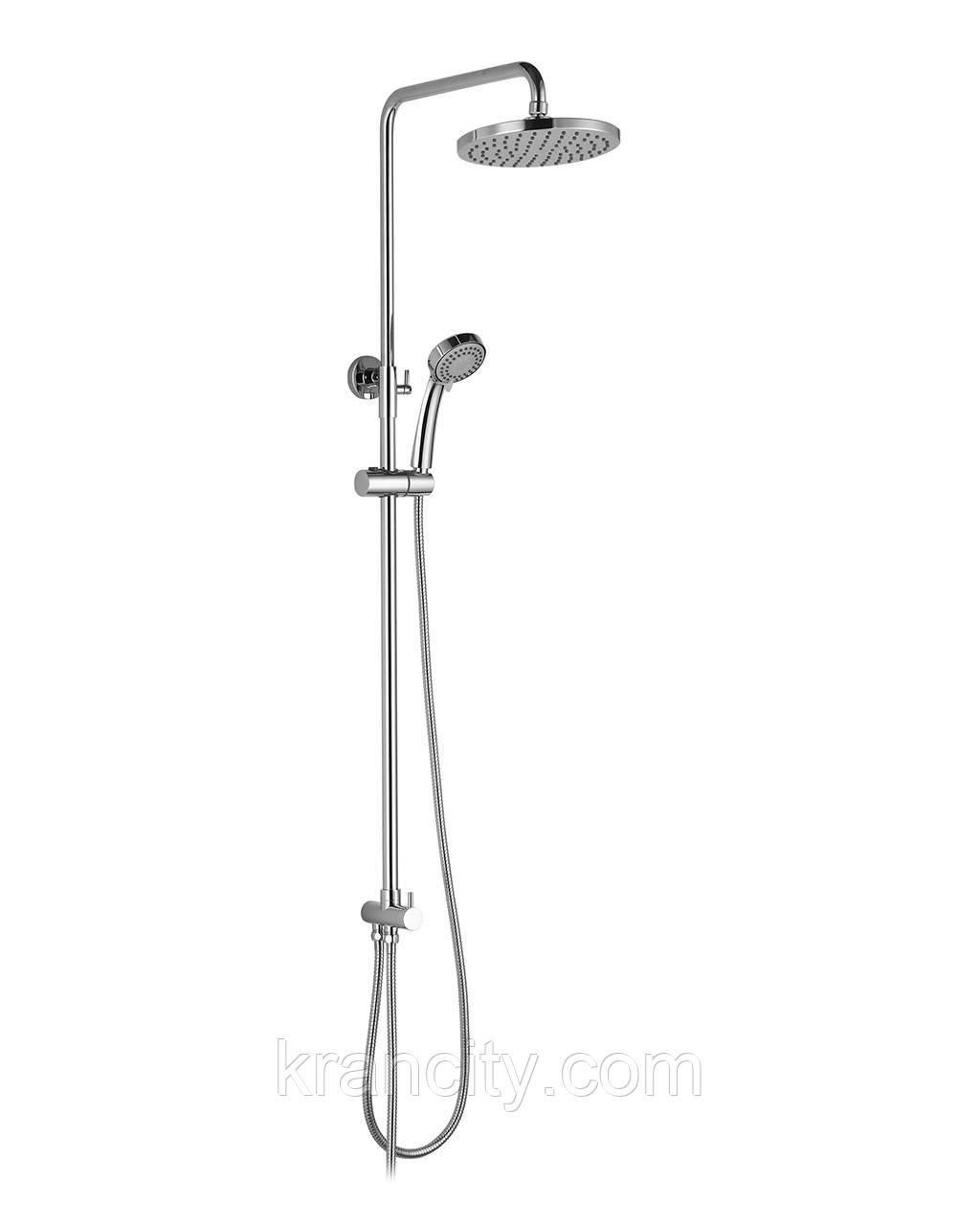 Душевая  система двойная без смесителя, IMPRESE T-15084