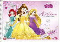 Школярик Альбом для рисования А4 на спирали  20 листов Disney арт 108