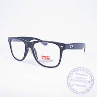 Имиджевые очки унисекс Ray Ban Wayfarer - Черные - 9318, фото 1