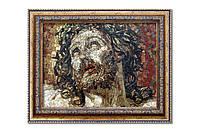 Картина мозаичная натуральный мрамор №38