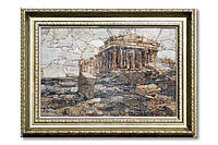 Картина мозаичная натуральный мрамор №43